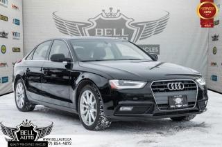 Used 2014 Audi A4 Progressiv plus, NAVIGATION, SUNROOF, PUSH START, HEATED SEATS for sale in Toronto, ON