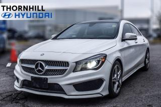 Used 2016 MERCEDES BENZ CLA-Class CLA 250 4MATIC  Leather, Nav, Back Up Camera, Heated Seats, MP3 for sale in Thornhill, ON