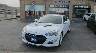 Used 2014 Hyundai Genesis Coupe 2.0T R-Spec/SATELLITE RADIO/MANUAL for sale in North York, ON