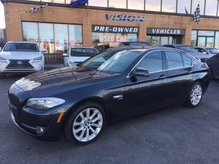 Used 2012 BMW 528 i i xDrive / NAVIGATION / SUNROOF for sale in North York, ON