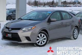 Used 2014 Toyota Corolla LE AUTO | HEATED SEATS | BACKUP CAM for sale in Fredericton, NB