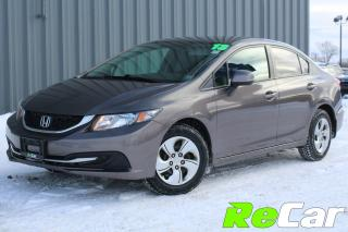 Used 2013 Honda Civic LX HEATED SEATS | ONLY $50/WK TAX INC. $0 DOWN! for sale in Fredericton, NB