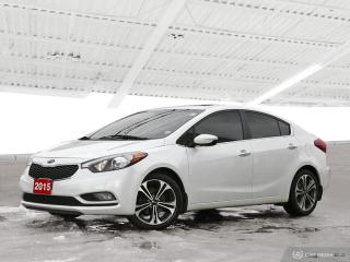 Used 2015 Kia Forte 2.0L SX Bluetooth, Back Up Camera, Navigation, and More! for sale in Waterloo, ON
