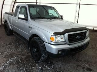 Used 2009 Ford Ranger Sport 4X4, AIR CONDITIONING, TONNEAU COVER, BLACK OUT SPORT ALUMINUM WHEELS for sale in Ottawa, ON