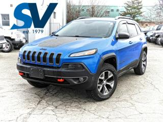 Used 2018 Jeep Cherokee Trailhawk NAVI/LEATHER/SUNROOF/ONLY 16,000 KMS for sale in Concord, ON
