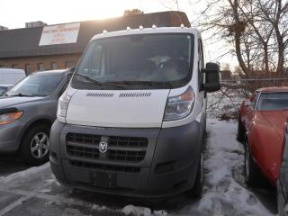 Used 2015 RAM 1500 ProMaster Low Roof DIESEL/REAR CAMERA/UCONNECT for sale in Concord, ON