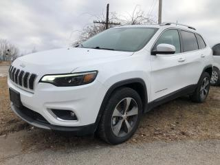 Used 2019 Jeep Cherokee Limited for sale in Cobourg, ON