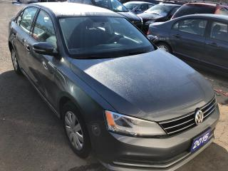 Used 2015 Volkswagen Jetta TRENDLINE+ for sale in St Catharines, ON