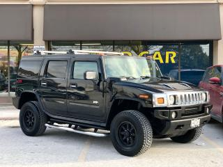 Used 2005 Hummer H2 Black on Black, 2 Years Warranty for sale in Vaughan, ON