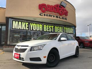 Used 2011 Chevrolet Cruze LT TURBO,CRUISE CONTROL, BLUETOOTH, A/C for sale in Toronto, ON