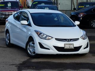 Used 2016 Hyundai Elantra ONE-OWNER, NO-ACCIDENTS, HEATED SEATS, BLUETOOTH, for sale in Mississauga, ON