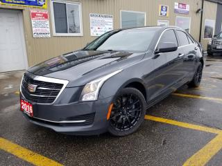 Used 2016 Cadillac ATS AWD-LEATHER-SUNROOF-AFTERMAKET WHEELS-BLUETOOTH for sale in Tilbury, ON