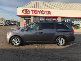 Used 2015 Honda Odyssey EX-L w/Navi Leather seating ,7 passenger for sale in Cambridge, ON