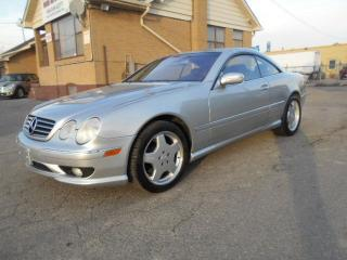 Used 2002 Mercedes-Benz CL500 5.0L V8 Loaded Leather Sunroof ONLY 188,000KMs for sale in Rexdale, ON