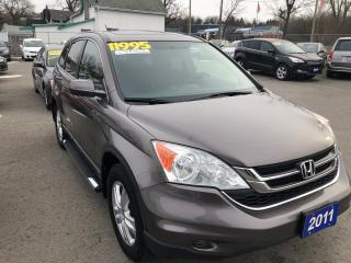 Used 2011 Honda CR-V EX 4Wheel Drive for sale in St Catharines, ON