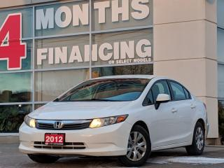 Used 2012 Honda Civic LX | Bluetooth | Cruise | Keyless Entry for sale in St Catharines, ON