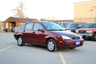 Used 2007 Ford Focus SE for sale in Brampton, ON