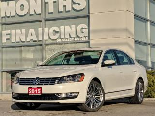 Used 2015 Volkswagen Passat TDI Comfortline Sport | Climate Control | Leather for sale in St Catharines, ON