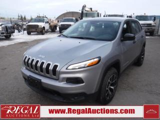 Used 2017 Jeep Cherokee Sport 4D Utility 4WD 3.2L for sale in Calgary, AB