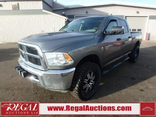 Used 2012 RAM 2500 SXT Crew CAB SWB 4WD 6.7L for sale in Calgary, AB