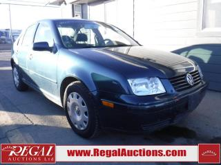 Used 2001 Volkswagen Jetta GL 4D Sedan for sale in Calgary, AB
