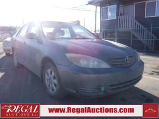 Used 2003 Toyota Camry 4D SEDAN for sale in Calgary, AB