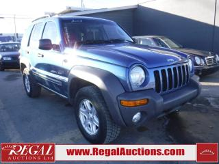 Used 2003 Jeep Liberty Sport 4D Utility 4WD for sale in Calgary, AB