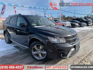 Used 2017 Dodge Journey Crossroad | 1OWNER | LEATHER | AWD | 7PASS for sale in London, ON