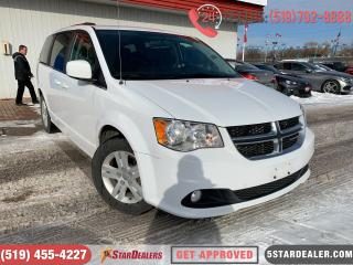 Used 2017 Dodge Grand Caravan Crew | 1OWNER | LEATHER | CAM | HEATED SEATS for sale in London, ON