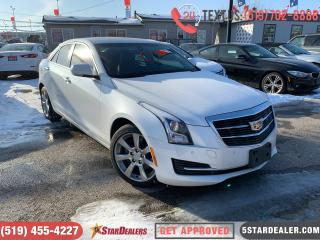 Used 2016 Cadillac ATS 2.0L Turbo Luxury | LEATHER | ROOF | CAM for sale in London, ON