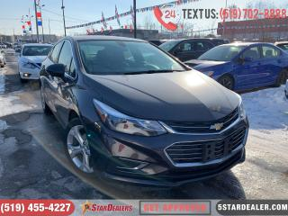 Used 2017 Chevrolet Cruze Premier| 1OWNER | LEATHER | CAM | HEATED SEATS for sale in London, ON