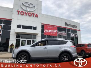 Used 2016 Toyota RAV4 SE LOADED for sale in Burlington, ON