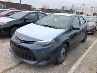 New 2019 Toyota Corolla LE for sale in Burlington, ON