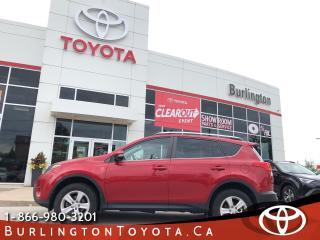Used 2013 Toyota RAV4 XLE SUNROOF for sale in Burlington, ON