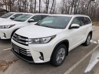 New 2019 Toyota Highlander LIMITED  for sale in Burlington, ON