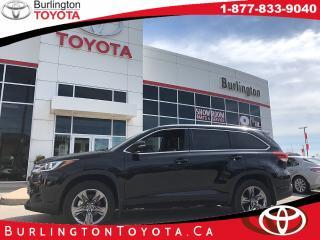 New 2018 Toyota Highlander LIMITED  for sale in Burlington, ON