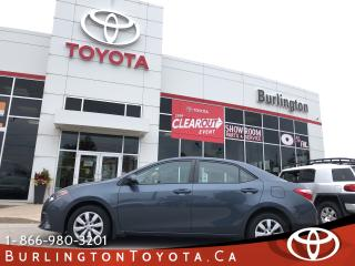 Used 2016 Toyota Corolla LE LOW KM for sale in Burlington, ON