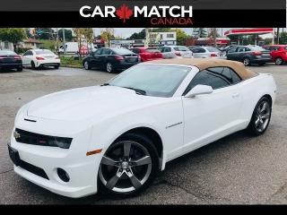Used 2011 Chevrolet Camaro 1SS / NAV  / LEATHER / 72KM for sale in Cambridge, ON