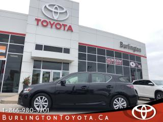 Used 2016 Lexus CT 200h Hybrid - for sale in Burlington, ON