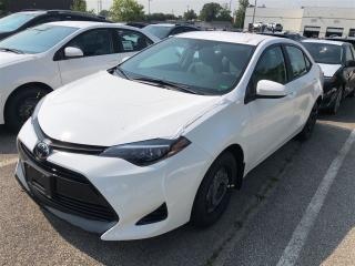 New 2019 Toyota Corolla CE for sale in Burlington, ON