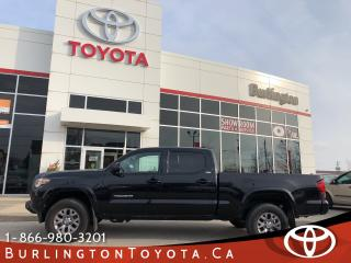 Used 2018 Toyota Tacoma SR5 Double Cab for sale in Burlington, ON