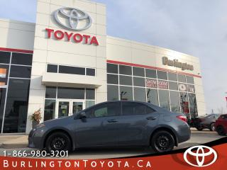 Used 2016 Toyota Corolla LE EXTENDED WARRANTY for sale in Burlington, ON
