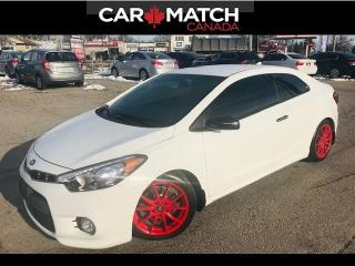 Used 2015 Kia Forte KOUPE / 1.6L SX / *AUTO* / 57KM for sale in Cambridge, ON
