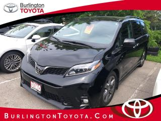 New 2019 Toyota Sienna SE 8-Passenger for sale in Burlington, ON