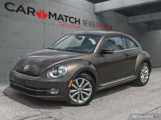 Used 2014 Volkswagen Beetle 1.8 TSI Highline / *AUTO* / HTD SEATS for sale in Cambridge, ON