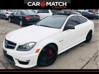 Used 2013 Mercedes-Benz C-Class 63 AMG / NO ACCIDENTS / 56KM for sale in Cambridge, ON