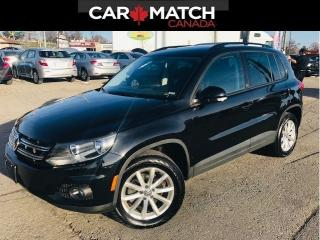 Used 2017 Volkswagen Tiguan WOLFSBURG EDITION / LEATHER / ONLY 33KM for sale in Cambridge, ON