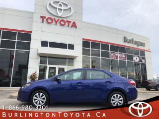 Used 2016 Toyota Corolla SPORT EXTENDED WARRANTY for sale in Burlington, ON