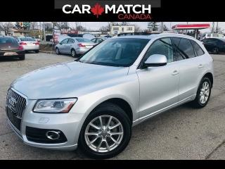Used 2014 Audi Q5 TDI Progressiv / PANO ROOF / NO ACCIDENTS for sale in Cambridge, ON