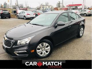 Used 2015 Chevrolet Cruze LT / *AUTO* / AC / POWER GROUP / 44KM for sale in Cambridge, ON